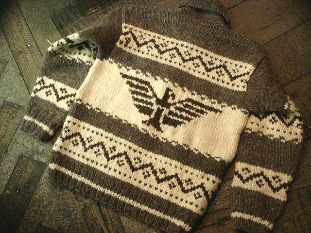 NEW : CANADIAN SWEATER COMPANY [Cowichan Sweater] !!_a0132147_23452875.jpg