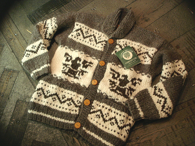 NEW : CANADIAN SWEATER COMPANY [Cowichan Sweater] !!_a0132147_23475287.jpg