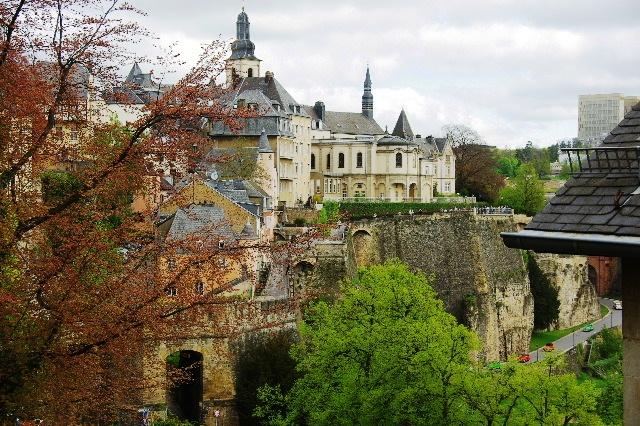 ルクセンブルクの旅 (5) ボックの断崖(要塞)とその眺望_c0011649_015033.jpg