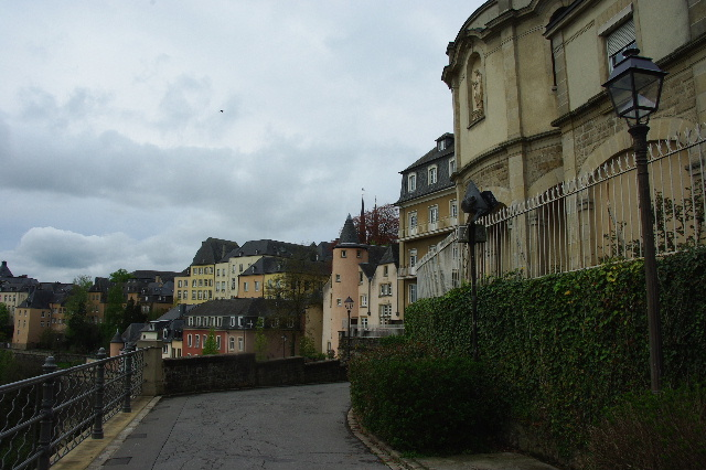 ルクセンブルクの旅 (5) ボックの断崖(要塞)とその眺望_c0011649_0171170.jpg
