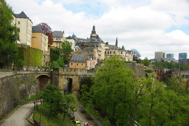 ルクセンブルクの旅 (5) ボックの断崖(要塞)とその眺望_c0011649_054226.jpg