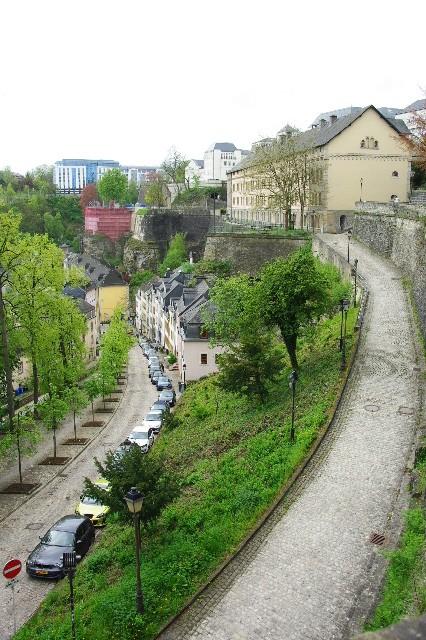 ルクセンブルクの旅 (5) ボックの断崖(要塞)とその眺望_c0011649_081117.jpg