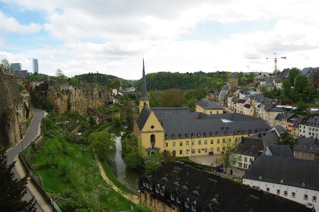 ルクセンブルクの旅 (5) ボックの断崖(要塞)とその眺望_c0011649_084215.jpg