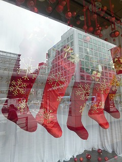 show window   クリスマス ☆ ディスプレイ_a0165160_6335075.jpg