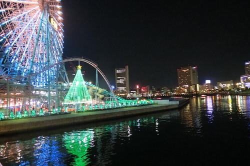 121212 横浜ランドマークから見る夜景はまるで宝石をちりばめたような美しさです。_d0288367_19104769.jpg