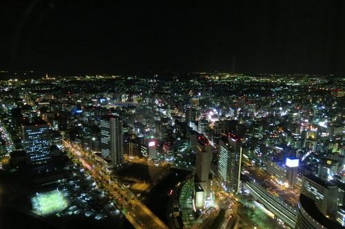 121212 横浜ランドマークから見る夜景はまるで宝石をちりばめたような美しさです。_d0288367_196516.jpg