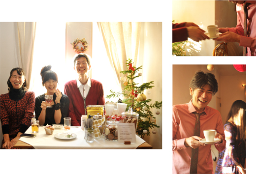 クリスマス、そして出版記念パーティー_d0174704_20373242.jpg