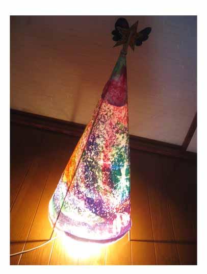 光るクリスマスツリー・小学生クラス_f0211514_20423838.jpg