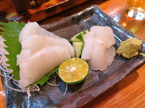 にぶ家で美味しい魚いただきま~す_a0055835_1744517.jpg