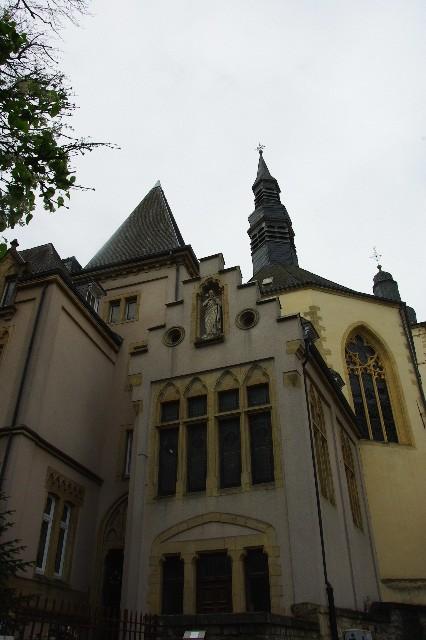 ルクセンブルクの旅 (6) サン・ミッシェル教会と大公宮殿_c0011649_5465733.jpg