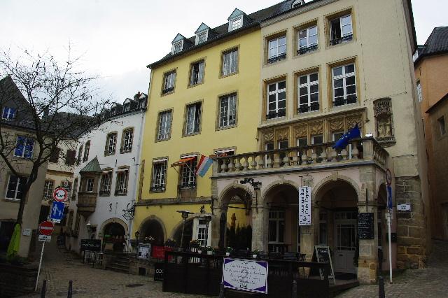 ルクセンブルクの旅 (6) サン・ミッシェル教会と大公宮殿_c0011649_5485491.jpg