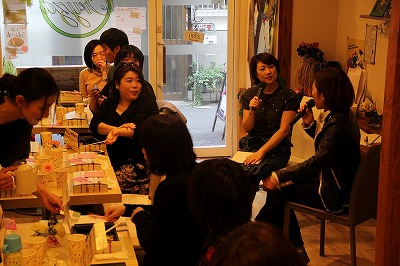 ジョイセフスポット始動! ジョイセフアワー in 大阪 _c0212972_2128146.jpg