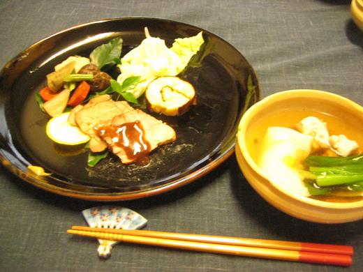 お節料理&薬膳楽膳 ほうれん草お浸し_d0031682_22451588.jpg