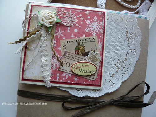 いただきもの*LEAF&LeaFさんからのクリスマスカード_d0285885_103111.jpg