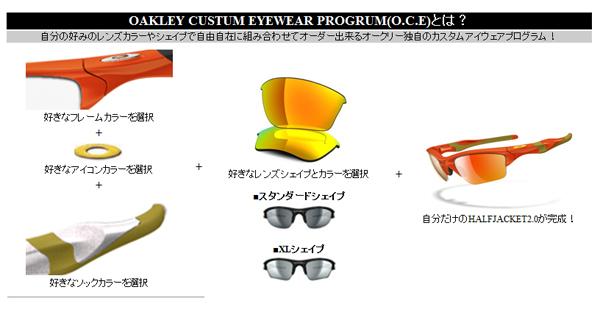 OAKLEY HALFJACKET2.0カスタムアイウェア発売記念先行モデル数量限定発売開始!_c0003493_9311657.jpg