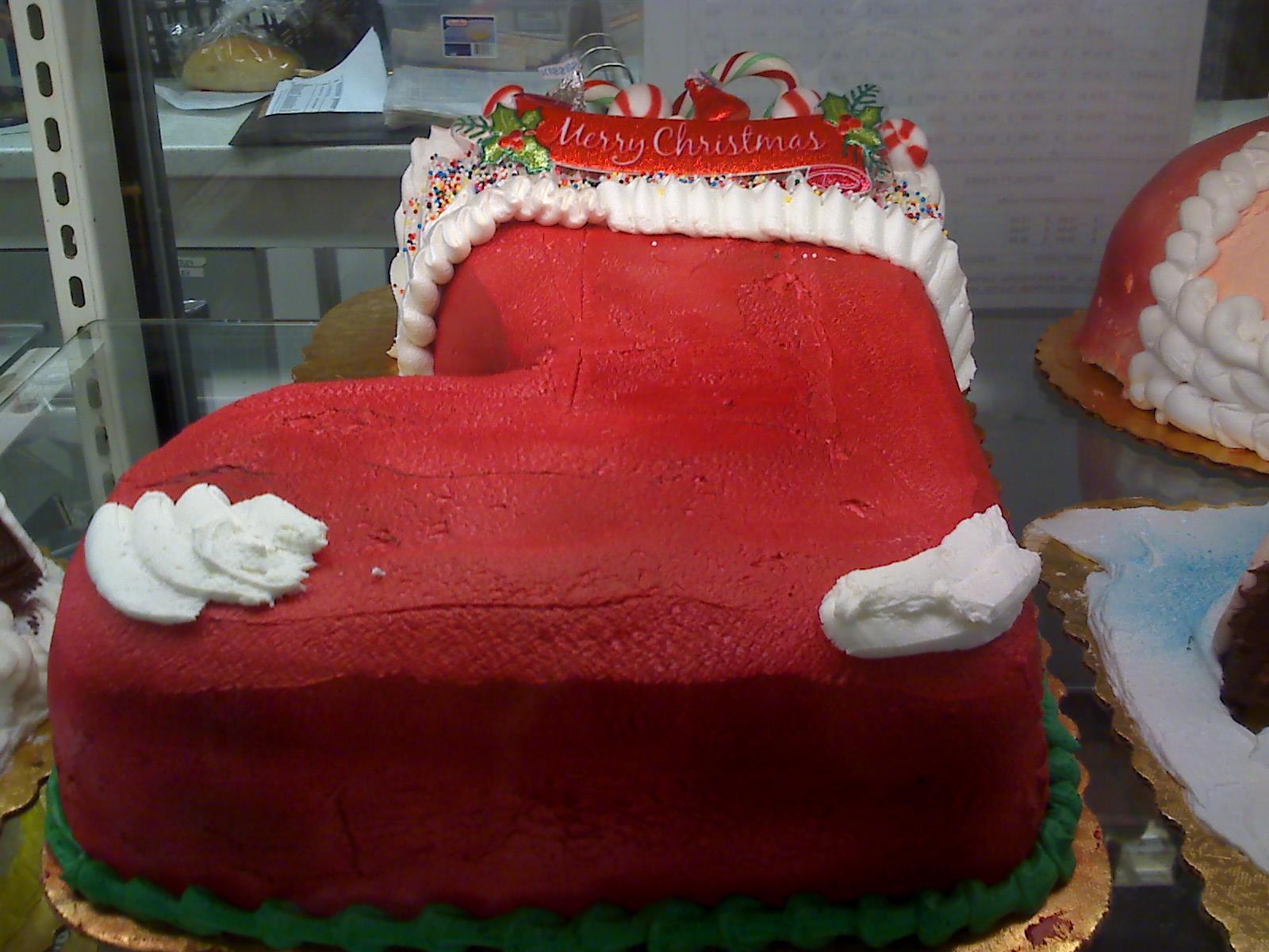 クリスマスの、毒々しい?ケーキ_d0240098_22112799.jpg
