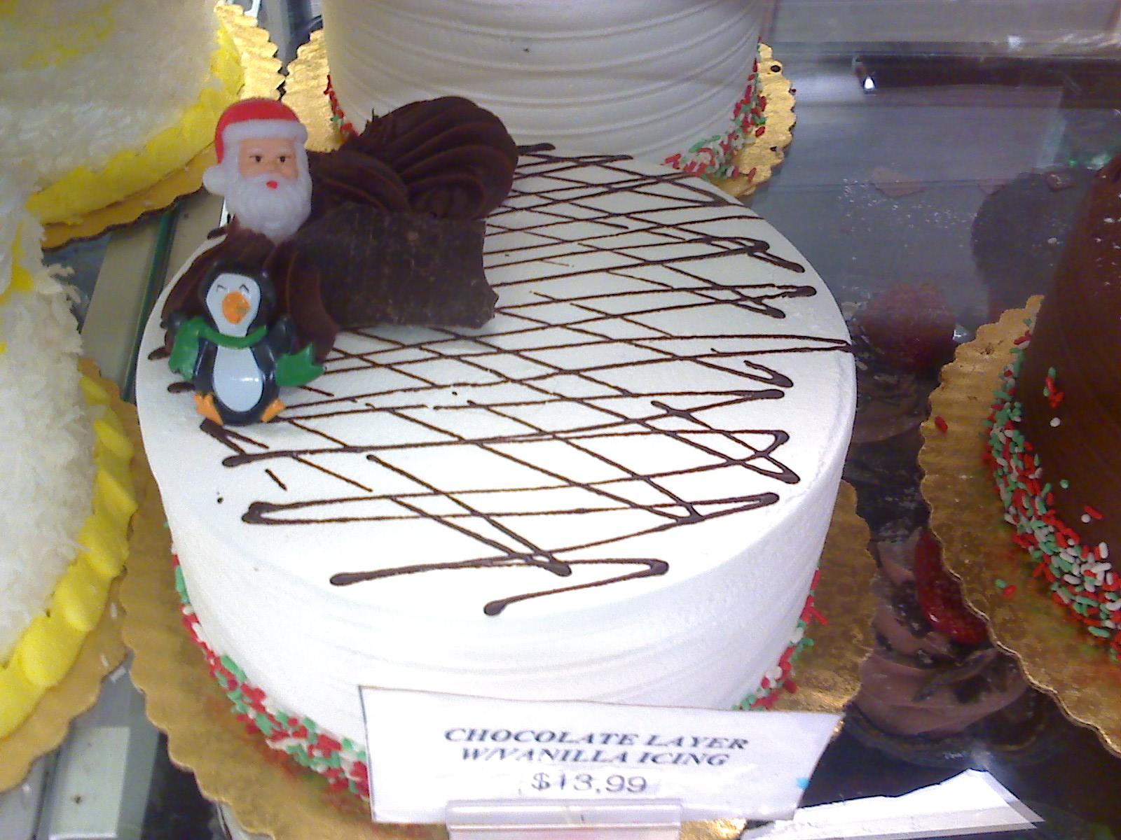 クリスマスの、毒々しい?ケーキ_d0240098_2215493.jpg