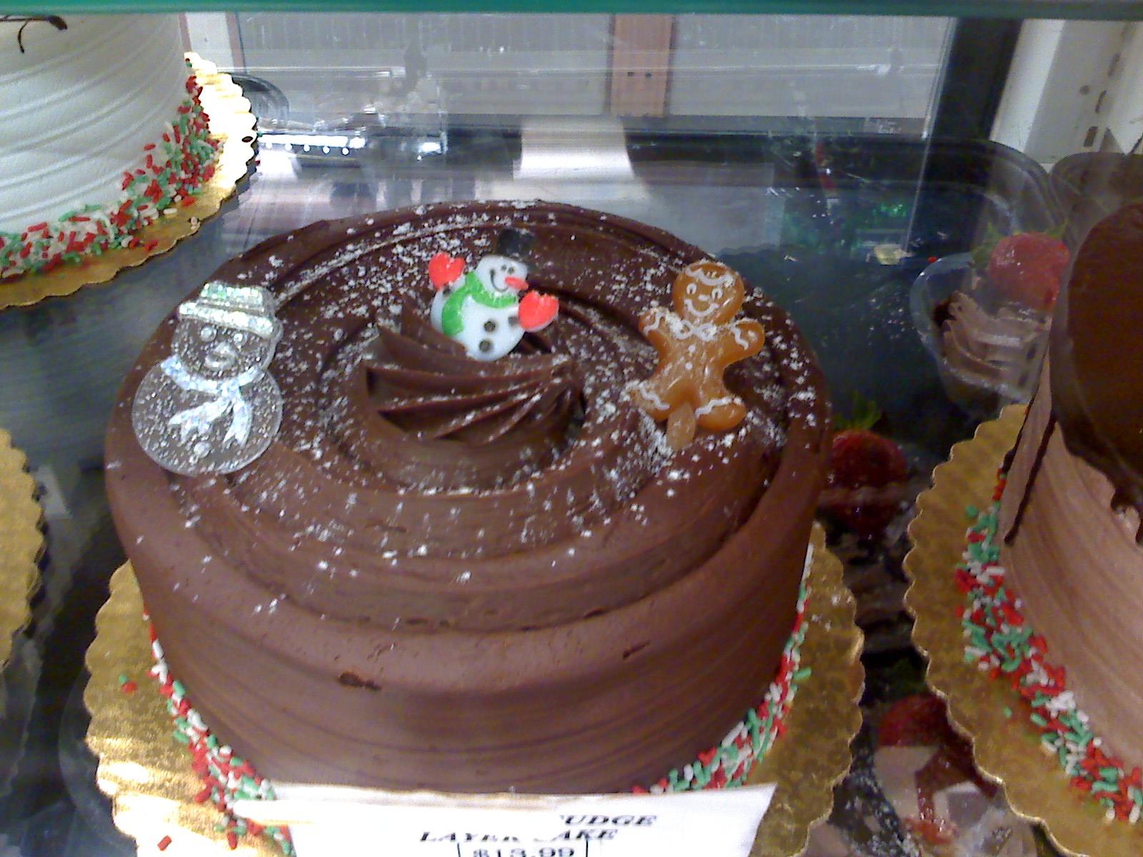 クリスマスの、毒々しい?ケーキ_d0240098_22161445.jpg