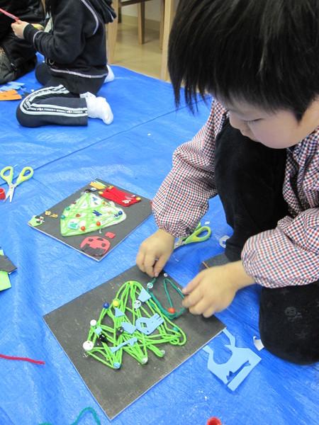 松井山手教室 ~クリスマス工作~_f0215199_19461010.jpg