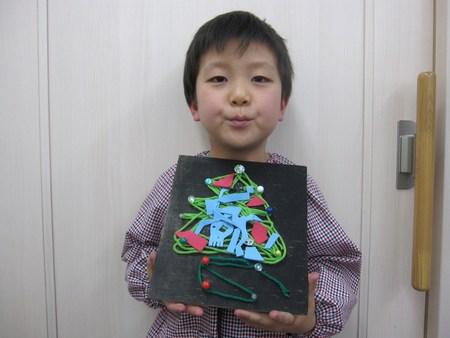 松井山手教室 ~クリスマス工作~_f0215199_1952482.jpg
