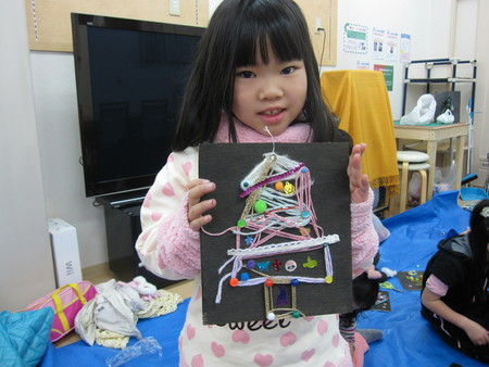 松井山手教室 ~クリスマス工作~_f0215199_2010425.jpg