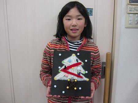 松井山手教室 ~クリスマス工作~_f0215199_20213498.jpg
