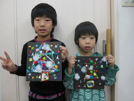 松井山手教室 ~クリスマス工作~_f0215199_203310.jpg