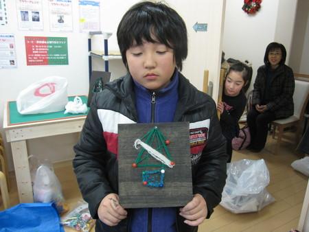 松井山手教室 ~クリスマス工作~_f0215199_2054488.jpg