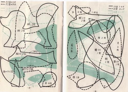 レトロ縫いぐるみの型紙_d0101846_7233571.jpg