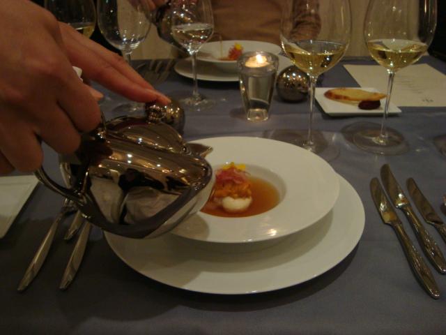 銀座「Restaurant MASA UEKI」へ行く。_f0232060_19592937.jpg