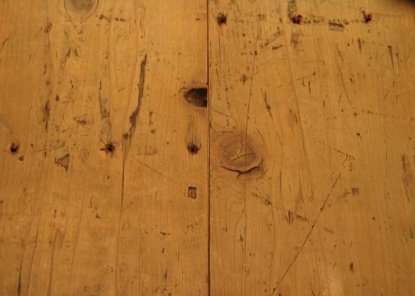 無垢材Xアイアンのオリジナルテーブル・完成!!●若林店●_a0096367_2157123.jpg