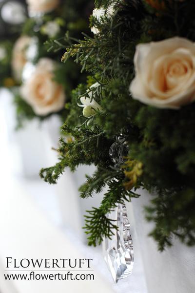 フローラルクリスマスツリーレッスン♪_c0137872_11321534.jpg