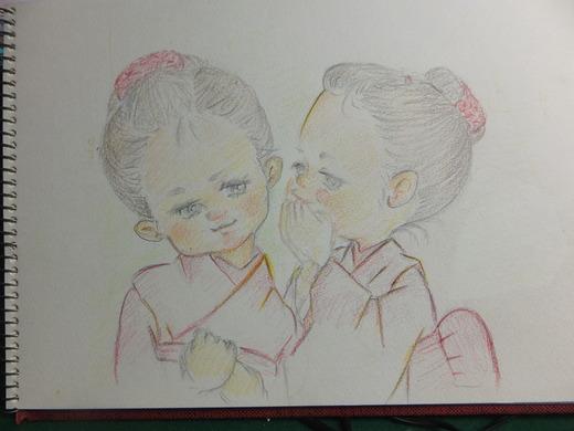 久しぶりに絵を書きました_d0251679_21383873.jpg