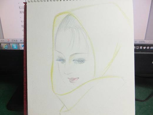 久しぶりに絵を書きました_d0251679_21404753.jpg