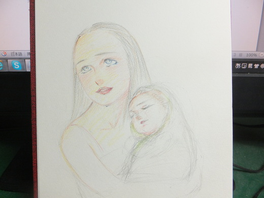 久しぶりに絵を書きました_d0251679_21424791.jpg