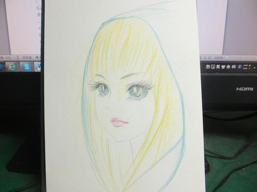 久しぶりに絵を書きました_d0251679_21442933.jpg
