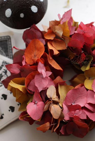 秋色のリース_f0127281_23123194.jpg