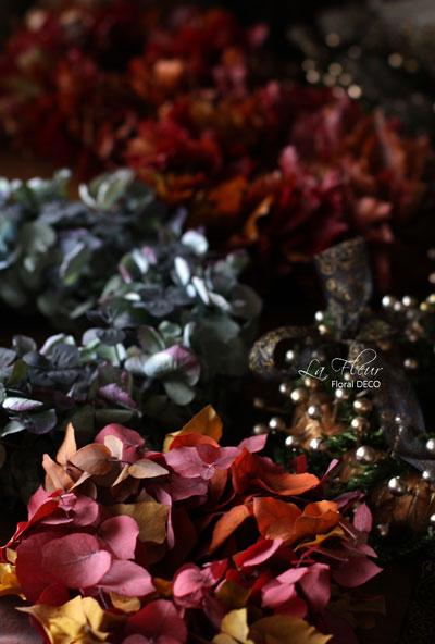 秋色のリース_f0127281_23542796.jpg