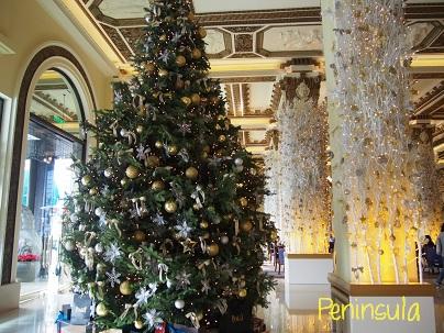 Peninsula Hotelのクリスマスツリー_d0088196_9471617.jpg