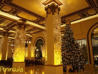 Peninsula Hotelのクリスマスツリー_d0088196_9502145.jpg