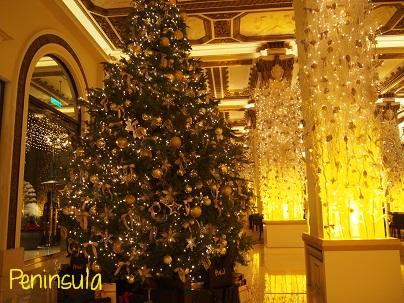 Peninsula Hotelのクリスマスツリー_d0088196_9505669.jpg