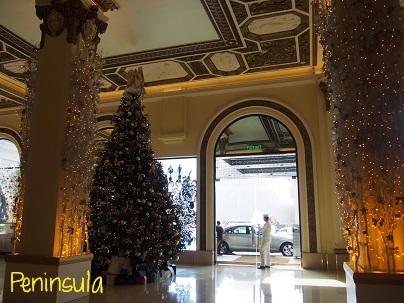 Peninsula Hotelのクリスマスツリー_d0088196_953947.jpg