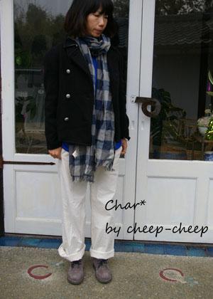 今日のChar*スタイル -color-_a0162603_17102890.jpg