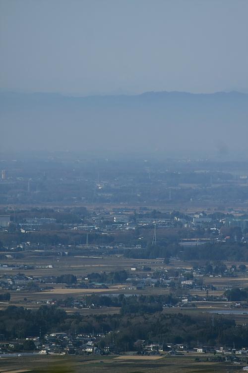 益子から八木岡と浅間山を望む - 2012年冬・真岡 -  _b0190710_23332051.jpg