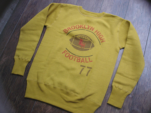 NEW : JELADO [CREW NECK SWEAT] USN PRINT & FOOTBALL PRINT !!_a0132147_21164055.jpg