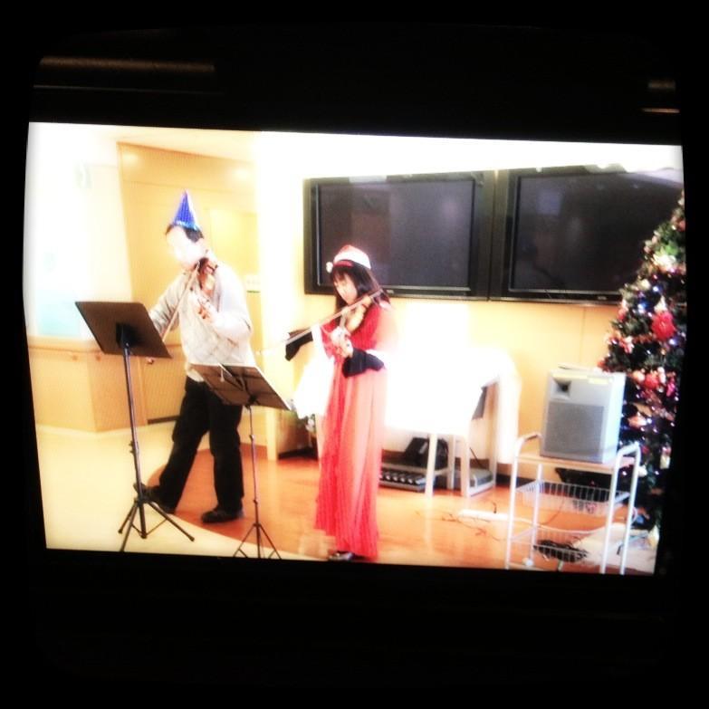 八千代病院 バイオリンコンサート♪_f0109257_643342.jpg