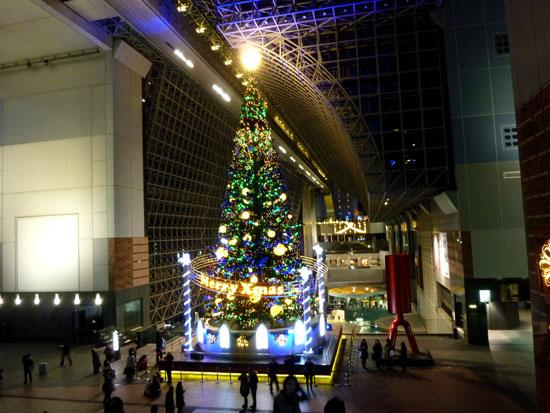 京都駅 クリスマスイルミネーション_e0048413_20451920.jpg