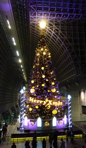 京都駅 クリスマスイルミネーション_e0048413_20453027.jpg