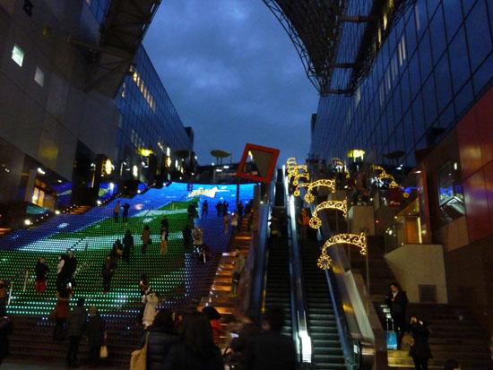 京都駅 クリスマスイルミネーション_e0048413_20454074.jpg