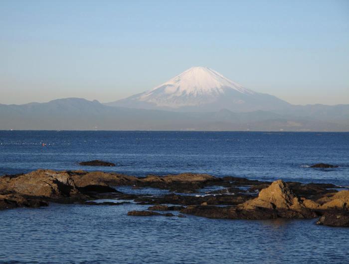 初冬の秋谷海岸_d0150720_9292756.jpg